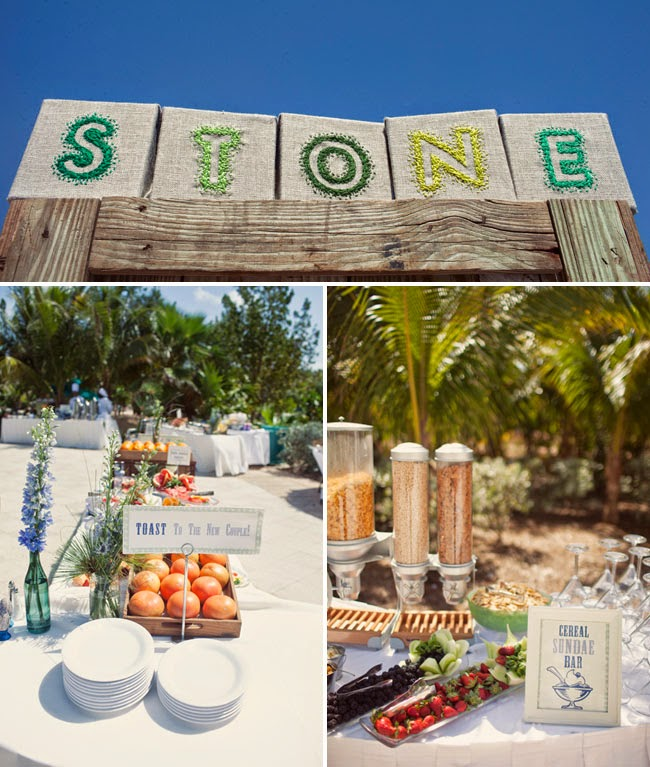 Beach Wedding Reception Food Ideas