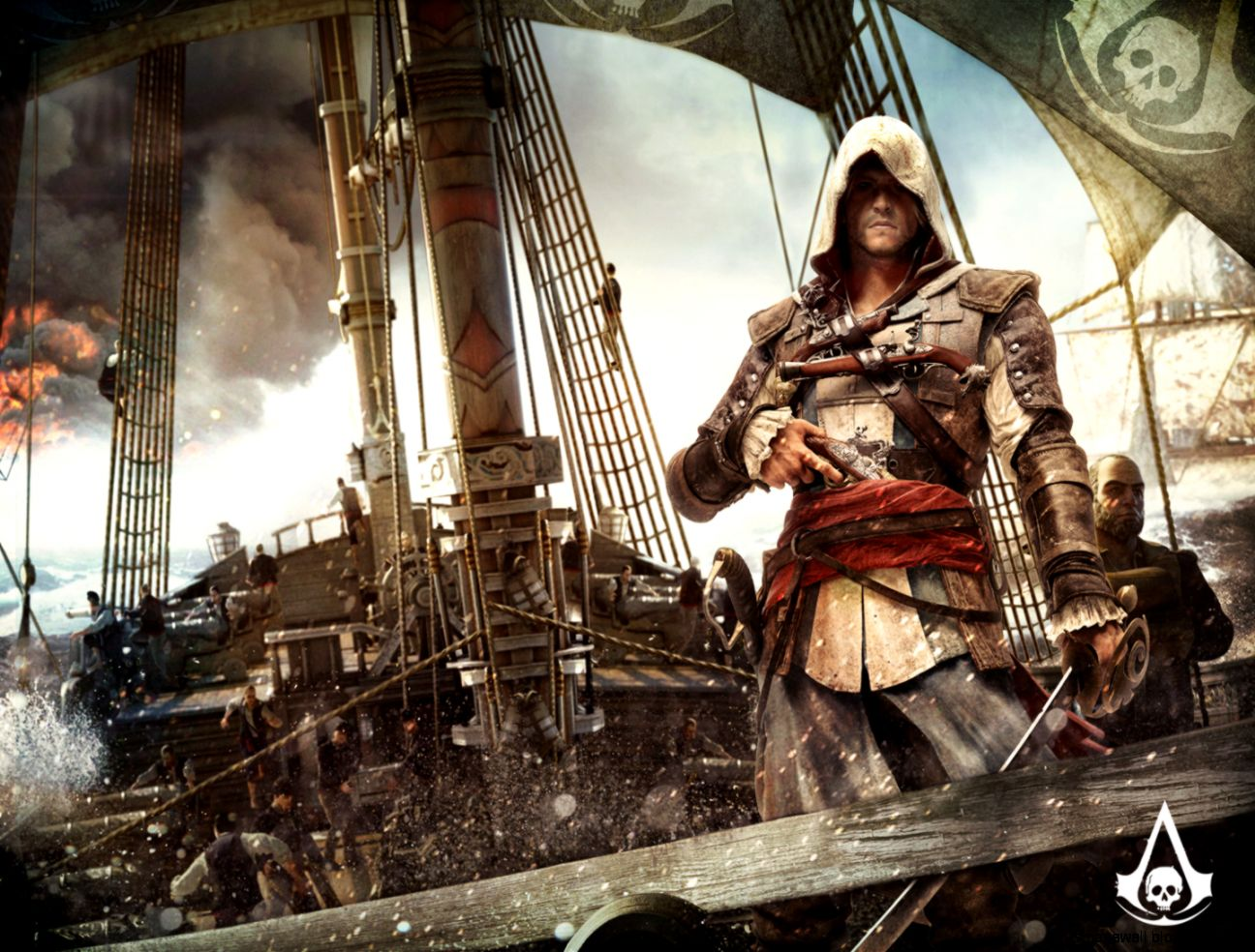 Assassins Creed 4 Art Wallpaper Mega Wallpapers