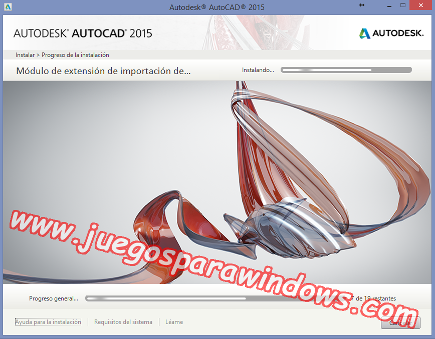 AutoCAD 2015 Full PC ESPAÑOL INGLES 32 y 64 Bits (XFORCE) 6