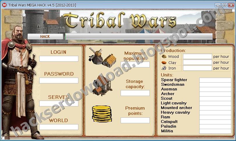 Tribal Wars Hack Tool No Survey-free working cheat add ...