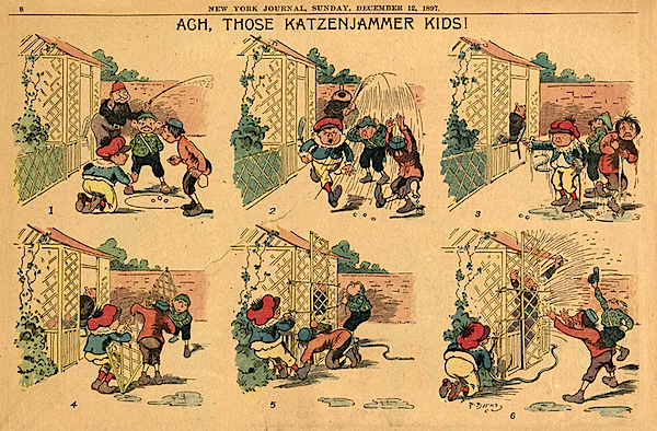 The Katzenjammer Kids di Rudolph Dirks (Bibì e Bibò)