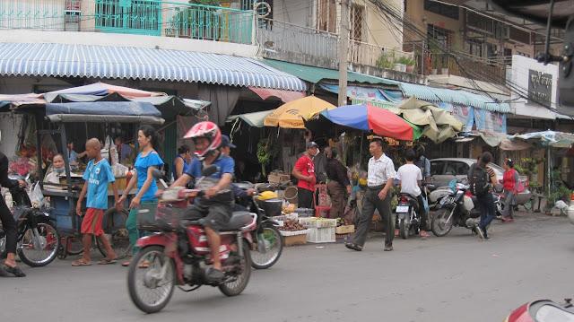 Alrededores del Mercado Ruso (Phnom Penh)