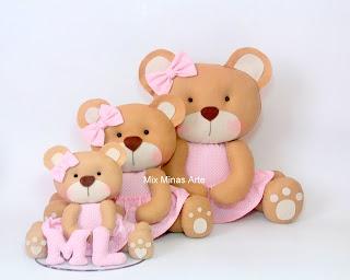 ursinhas para decorar quarto infantil