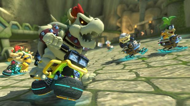 Um novo vazamento mostrou uma imagem de Mario Kart 8 para Nintendo Switch onde foram anunciadas 24 pistas extras, um novo modo e 10 personagens inéditos.