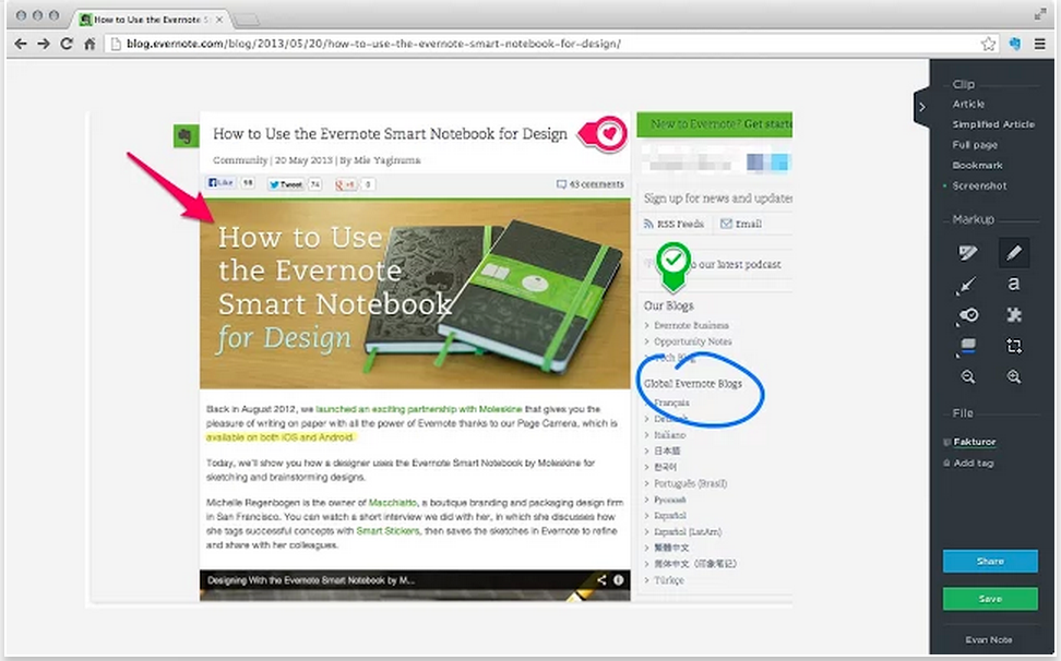 2 Must Have Evernote Tools for Teachers | Educational Technology and