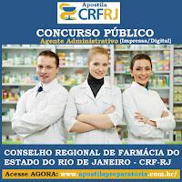 Concurso Público Conselho Regional de Farmácia do Rio de Janeiro - CRF RJ