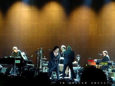 Από το live του Nick Cave στην Αθήνα το καλοκαίρι του 2018