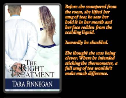 The Right Treatment, rectal thermometers, and Tara Finnegan