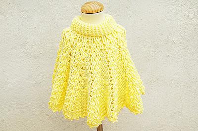 1 - Crochet ganchillo IMAGEN Capita amarilla fácil de hacer. Muy linda.MAJOVEL CROCHET