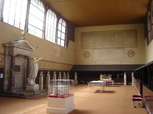 Interior do Museu Jeu de Paume