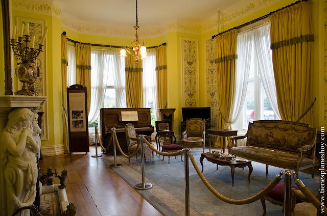 Interior Kylemore Abbey Condado de Galway Irlanda