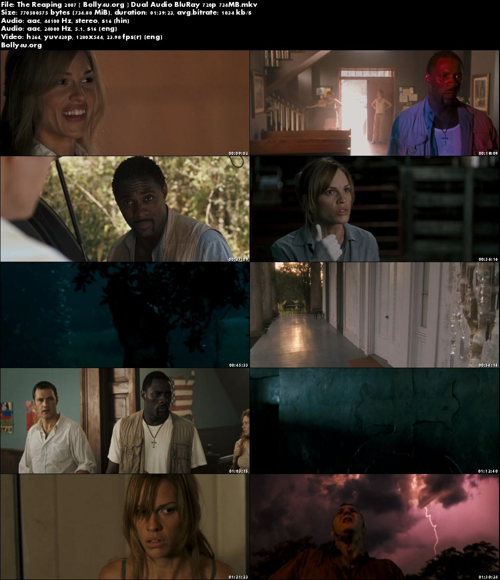 The Reaping 2007 BluRay 700Mb Hindi Dual Audio 720p Download