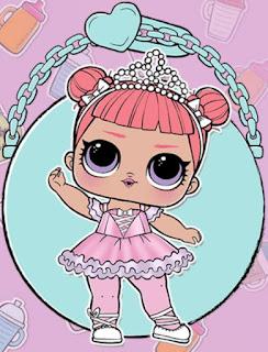 Балерина: модная коллекционная кукла ЛОЛ Сюрприз из серии Танцовщицы
