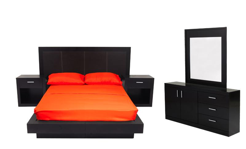 Recamaras muebles novostilo for Buros de cama modernos