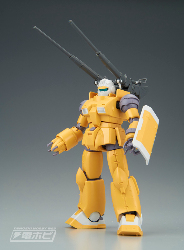HG 1/144 RCX-76-01A / RCX-76-01B Guncannon Mobility Test Type / Thermal Test Type Sample Images by Dengeki Hobby