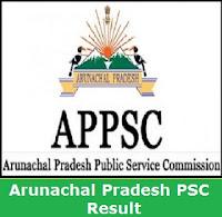 Arunachal Pradesh PSC Result 2017