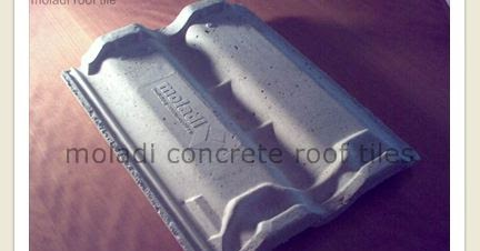 concrete roof tiles produced on site make your own concrete roof tiles