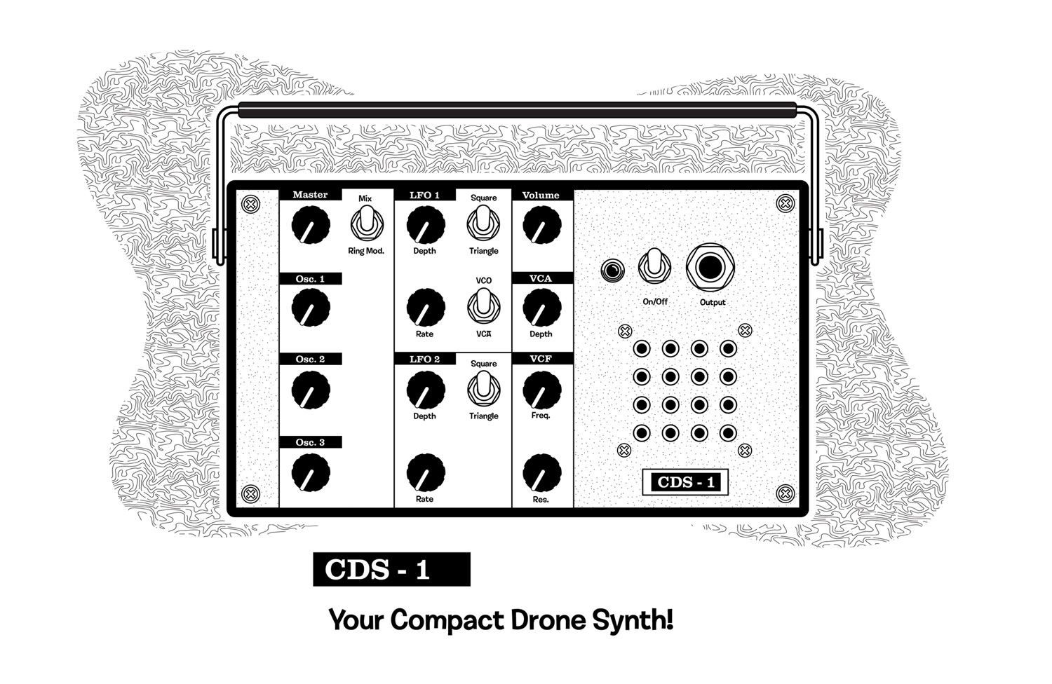 Matrixsynth Ruin Electronics Cds 1og Drone Noise
