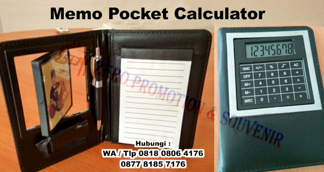 memo calculator, Memo Pocket Calculator, Agenda Organizer with Calculator, memo agenda kalkulator dalam 1 paket