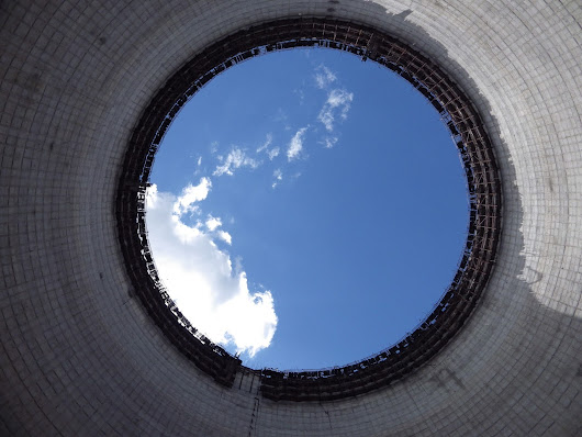 The view from inside a Nuclear Power Station