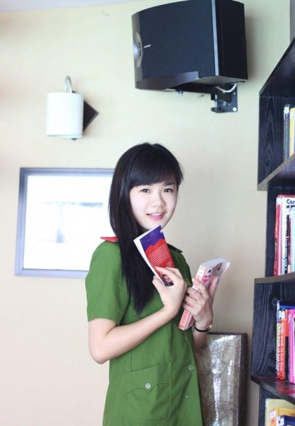 nhung nu sinh xinh dep cua hoc vien canh sat nhan dan 6 - Tổng Hợp các HOT Girl Nữ Cảnh Sát đốn tim FAN nhất Việt Nam