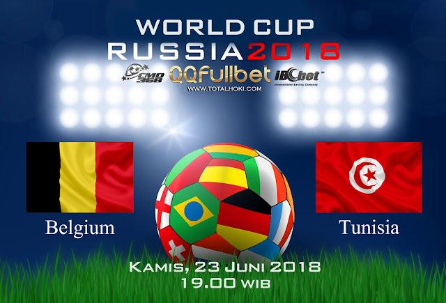 BOLA88 - PREDIKSI BOLA PIALA DUNIA : BELGIA VS TUNISIA 23 JUNI 2018 ( RUSSIA WORLD CUP 2018 )