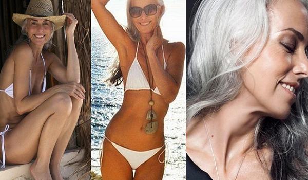 Είναι σχεδόν 60 ετών, μοιάζει 30 και μοιράζεται το μυστικό της νεότητας με όλους