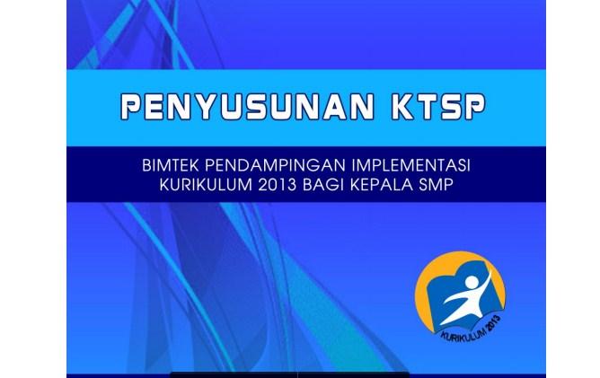 Panduan Penyusunan Ktsp Berbasis Kurikulum 2013 Untuk Smp Perangkat Pembelajaran