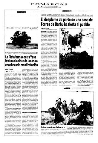 Buitre muerto en Fañanás