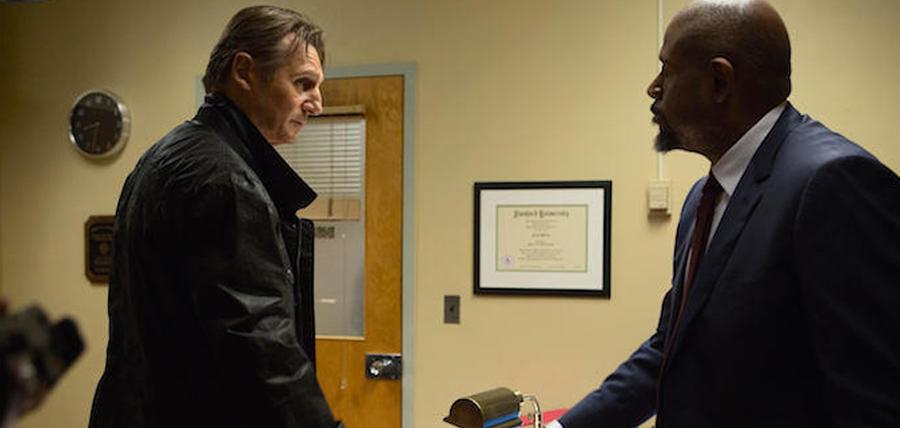 Liam Neeson şi Forest Whitaker în Taken 3
