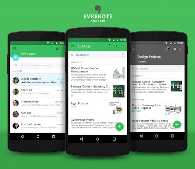 Evernote B2B Note writing application