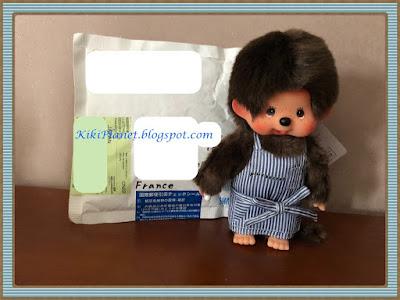 monchhichi chimutan kiki accessories item badges fes rock, miroir, sticky note, porte adresse