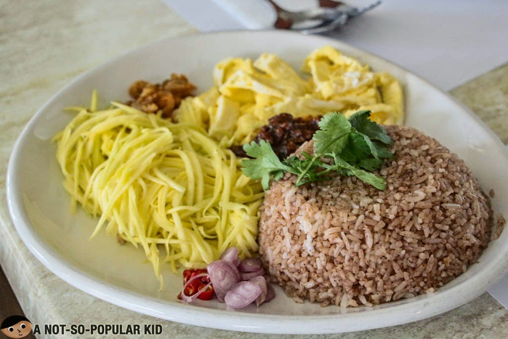 The famous Thai Bagoong Fried Rice - Just Thai