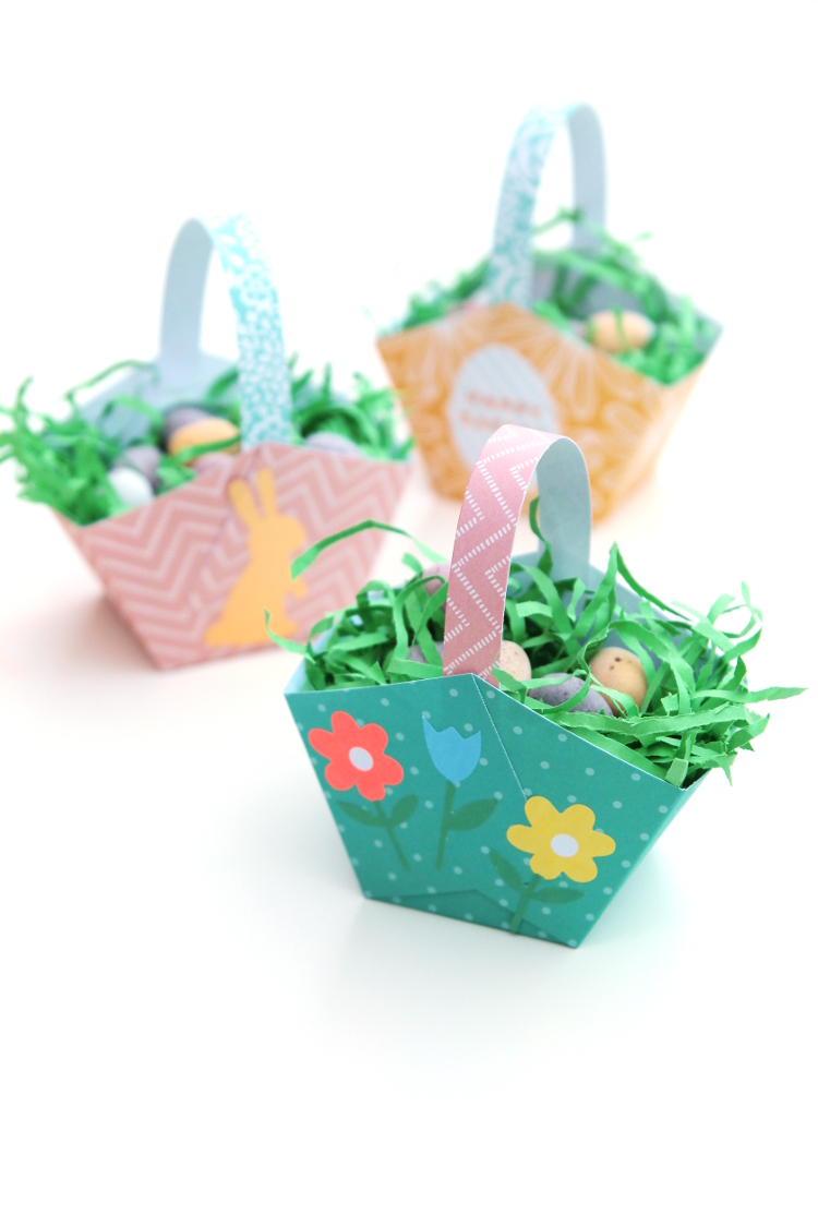 THE EASIEST EASTER BASKETS, EVER!