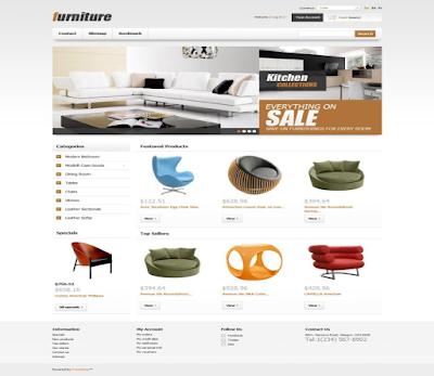 Thiết kế website bán hàng thiết kế nội thất