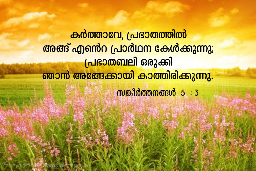 100+ EPIC Best Good Morning Bible Quotes In Malayalam - quotes