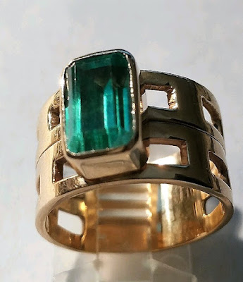 Nitestar jewelry emerald ring