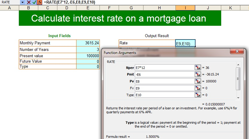12 Free Loan Calculators For Excel | Mortgage Loan
