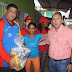 Ministro Francisco Torrealba y alcalde Tito Oviedo entregaron más de 690 bolsas de alimentos en San Félix