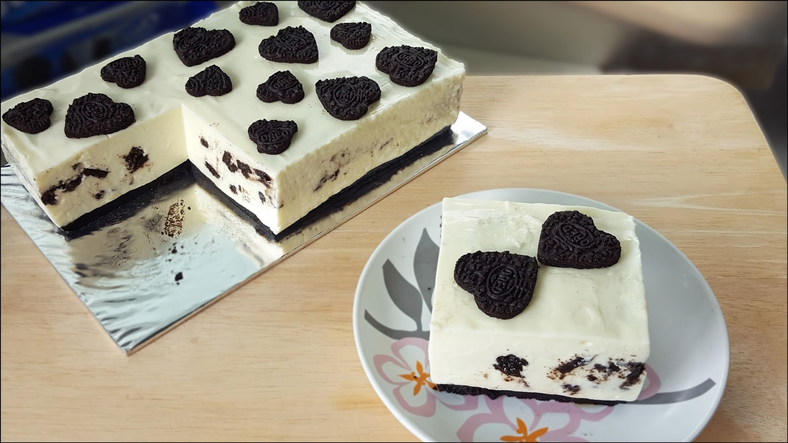 No Bake Oreo Kuchen Kitchentigress No Bake Oreo Cheesecake