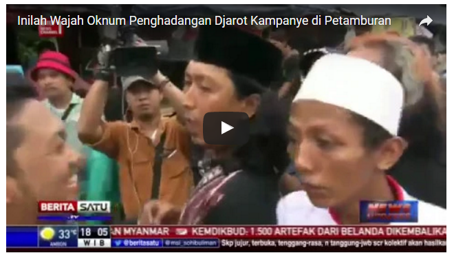 Breaking News: Ketua FPI Jakarta Pusat Jadi Buronan Polisi. Ini Fotonya...!