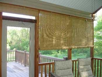 Bamboo Shades For Porches Bamboo Valance Photo