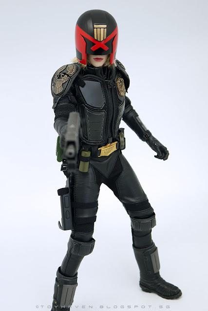 1//6 VTS Virtual Toys VM013 Epoch Cop Female Dredd Judge Cassandra Anderson New