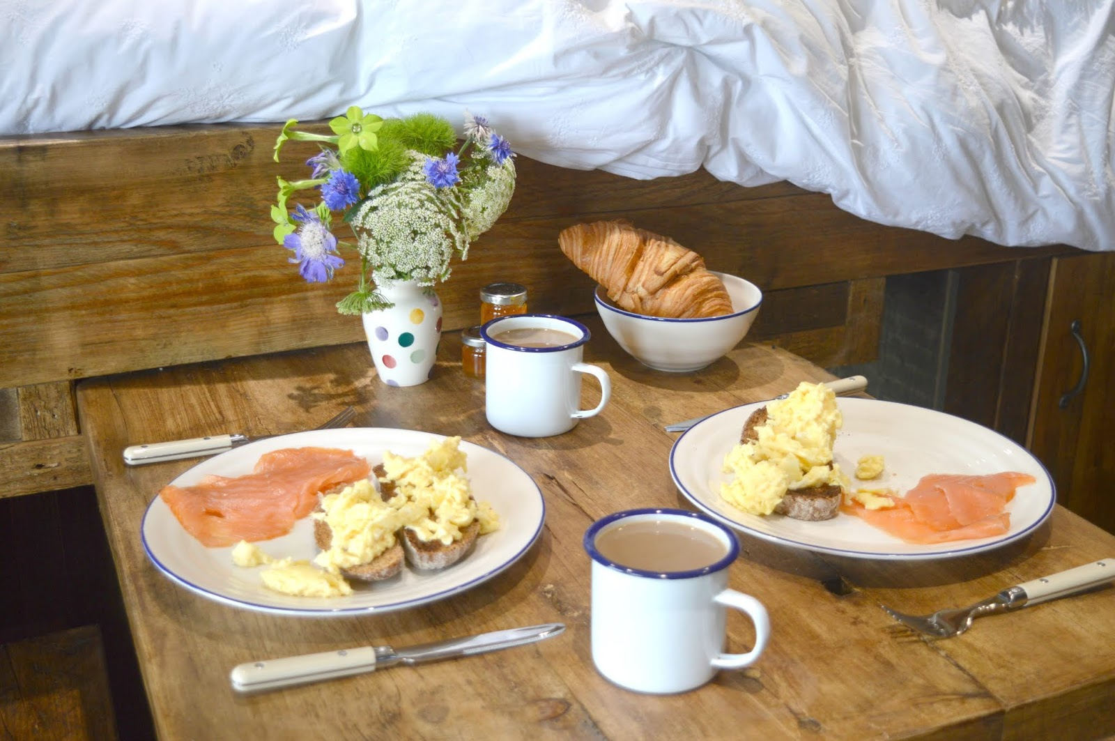 Huts in the Hills, Northumberland Luxury Glamping - Farm Food