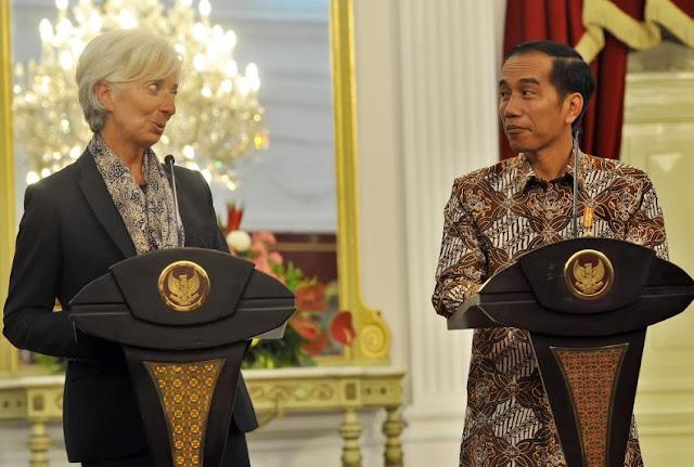 Jokowi Ajak Bos IMF Blusukan ke Pasar dan Rumah Sakit
