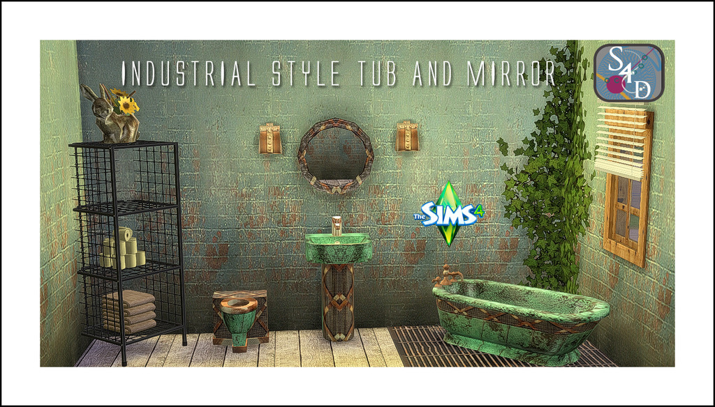 My Sims 4 Blog Small Animal Planters and Industrial Style