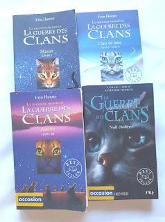 livre littéraire ado chat collection la guerre des clans