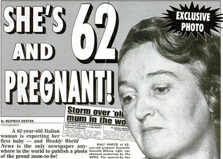 Image: 62-Year-Old Could Be Oldest to Give Birth