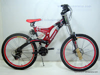 1 Sepeda Gunung EVERGREEN Quakeproof Bike 1.0 - Dual Suspension 26 Inci