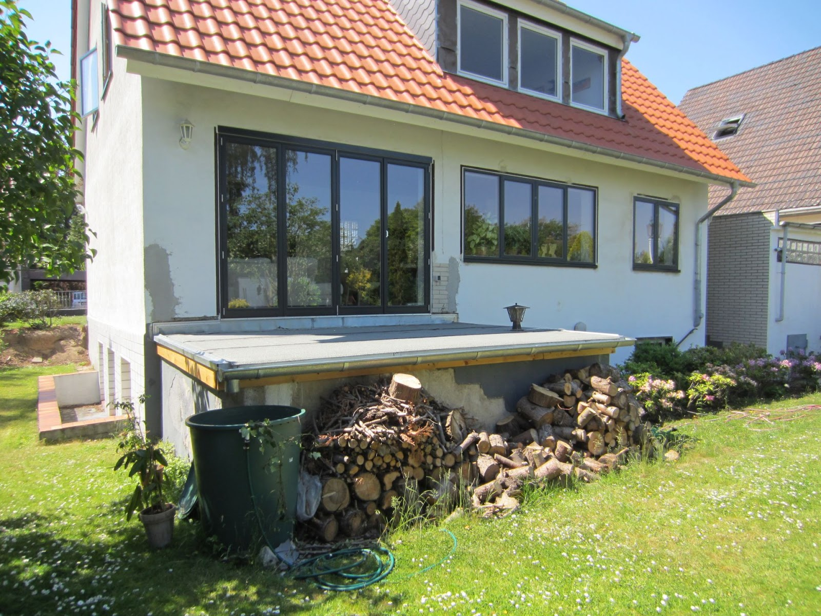 Terrasse Aus Stahl terrasse aus stahl mit holzbelag fröbel metallbau